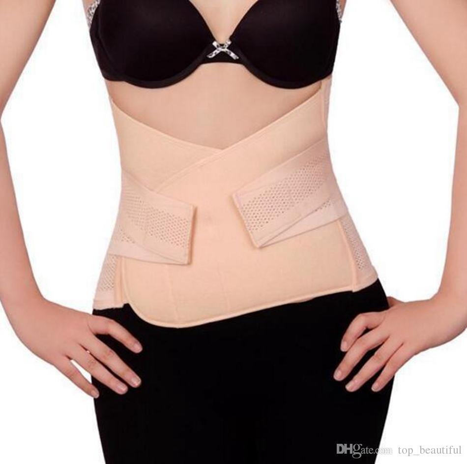 27b97786a4d Women Cincher Breathable Maternity Postpartum Body Shaper Corset ...