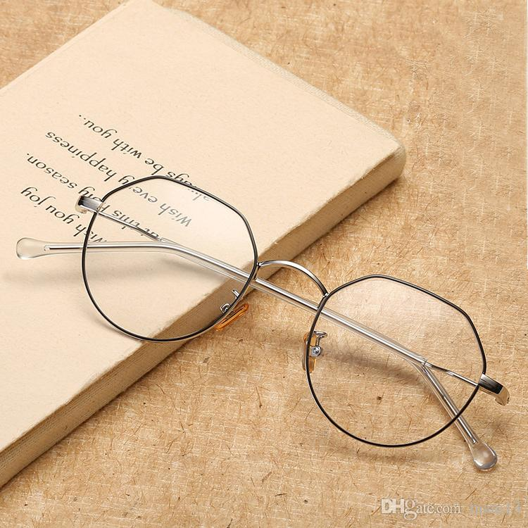 8c4b65840b2 Men Women Unisex Vintage Decoration Optical Eyeglasses Frame Myopia ...