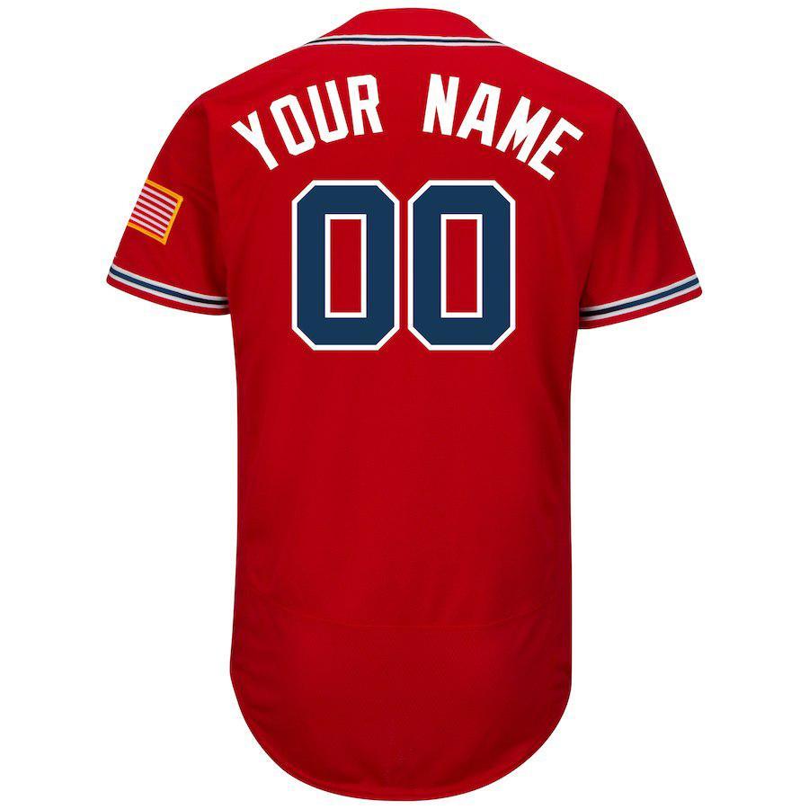 lowest price 622ac 2599d Mens Custom Atlanta Braves Ronald Acuna Jr. Charlie Culberson Johan Camargo  Adam Duvall John Smoltz Grant Dayton Baseball Jersey