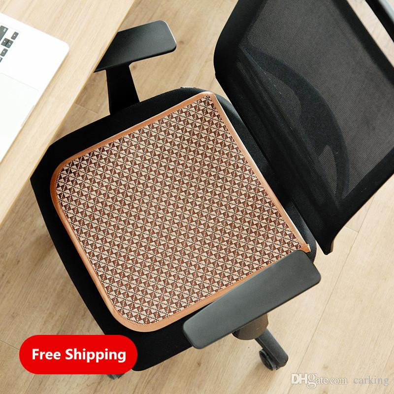 Rattan Bamboo Chair Cushion Office Stool Mat Summer Student Butt Chair  Table Chair Seat Cushion Replacement Cushions Patio Furniture Patio Set  Cushions From ...