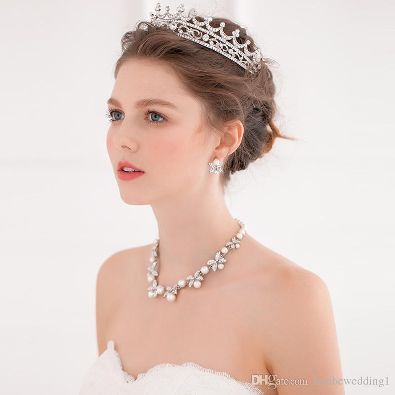 Hair Adornments Crown Wedding Accessories Glinting Rhinestone Clusters Lush Handmade Bridal Headpieces Tiaras Delicate Bridal Hairbands