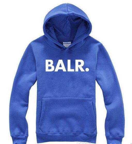 d64c309c16c5 Men BALR Printed Fleece Hoodies Spring Autumn Winter Long Sleeved Hooded  Tops Casual Hip Pop Pullover Punk Mens Sportswear Sweatshirt