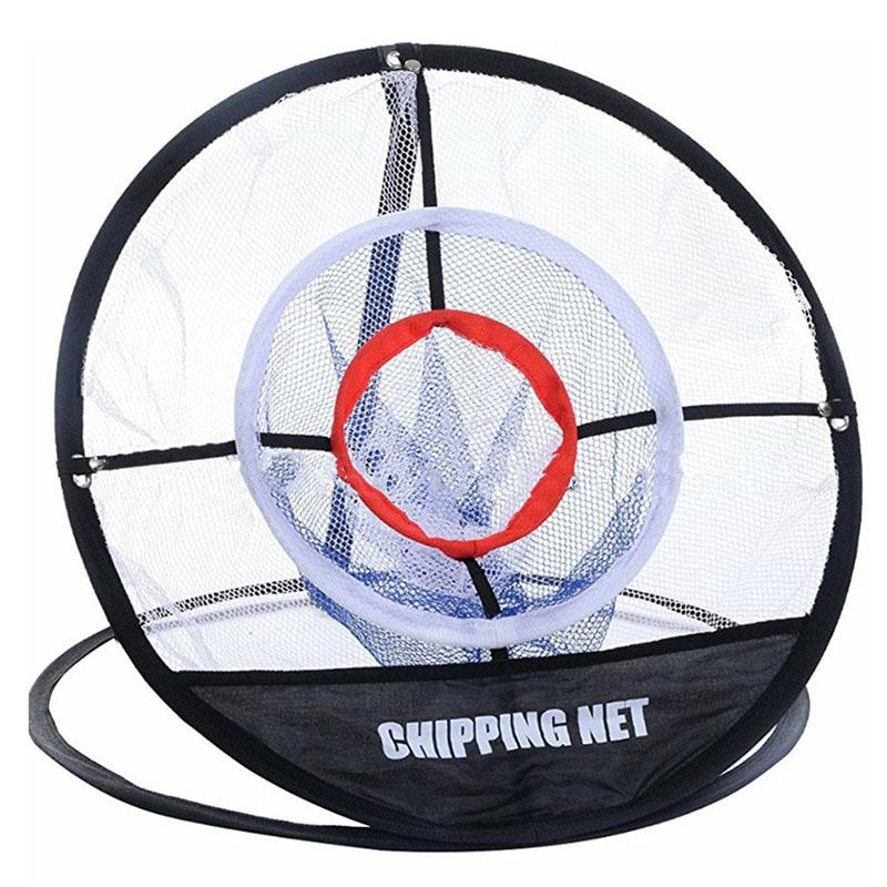 PGM Golf Pop UP Indoor Chipping Ao Ar Livre Chipping Gaiolas Mats Prática Fácil Net Golf Training Aids Metal + Net