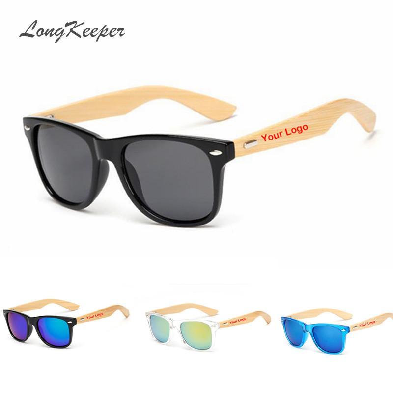 f4d3f5658c Wholesale Custom Logo Bamboo Arms Sunglasses Men Wooden Sunglasses Women  Original Wood Sun Glasses Customerized Electric Sunglasses Fastrack  Sunglasses From ...