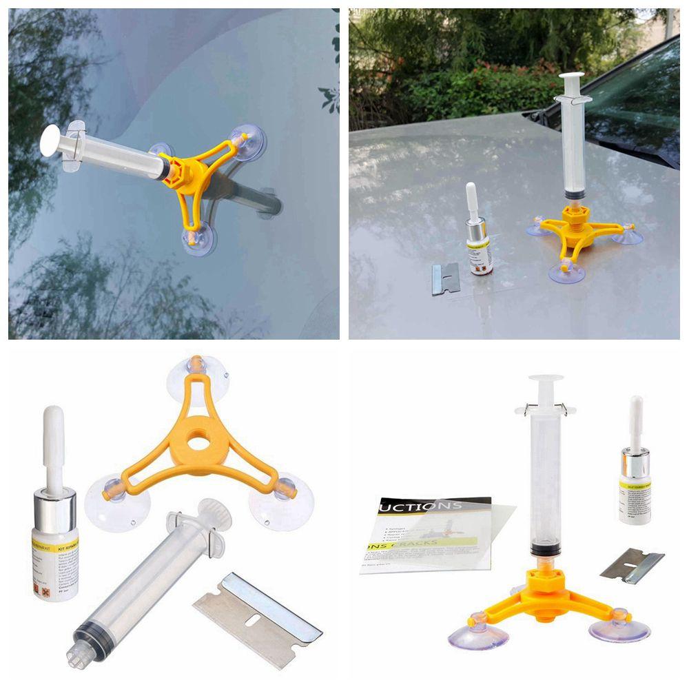Windshield Repair Kit >> Windscreen Windshield Repair Tools Set Diy Instrument Car Wind Glass Repair Kit For Chip Crack Aaa205
