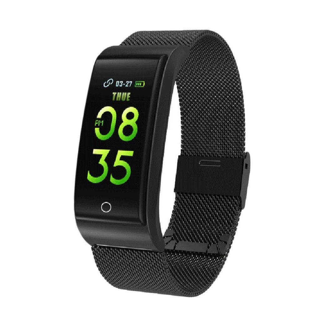 3f01772b725 IP68 Waterproof Smart Watch F4 Smart Wristband Heart Rate Tracker Blood  Pressure Oxygen Fitness Bracelet 2018 New Cool Watches Swiss Watch From  Hoganr