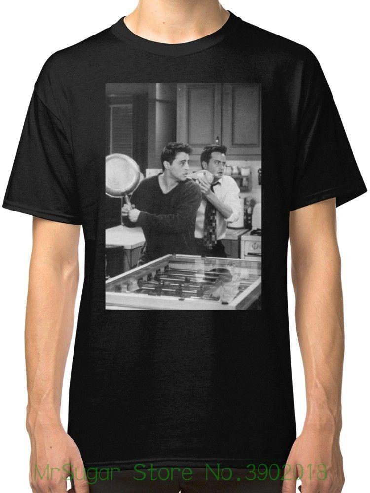 c10e557a3c1bb Friends Tv Show Black T-shirt Tees Clothing Good Quality Brand Cotton Shirt  Summer Style Cool Shirts
