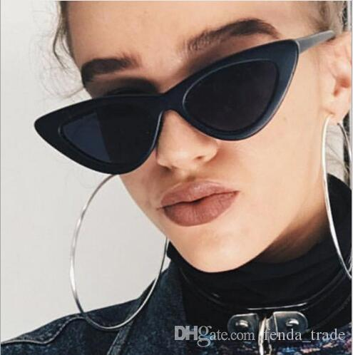 1abfd57679dd9 Vintage Women Sunglasses Cat Eye Eyewear Brand Designer Retro Sunglass  Female Oculos De Sol UV400 Sun Glasses Wiley X Sunglasses Mirror Sunglasses  From ...