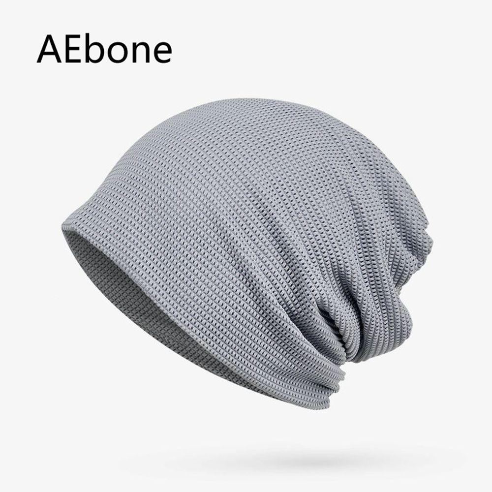 2019 AEbone Solid Mesh Bonnet Femme Plain Beanies Summer For Woman Net  Skullies And Beanies Hats Gray Coffee AE8233 From Qingfengxu 11776d51e39