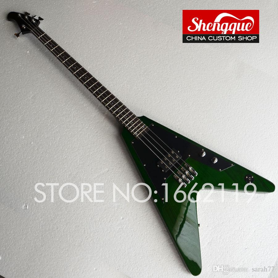 factory custom flying v bass 4 strings electric guitar flying v shape body all color are. Black Bedroom Furniture Sets. Home Design Ideas