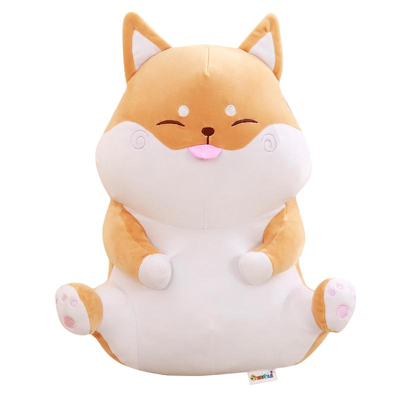 Image of: Animals Stickers 2019 27cm Kawaii Animals Plush Toys Cute Shiba Inu Dog Pink Pig Toys For Children Kids Lovely Doll Stuffed Nap Pillows From Anna88888 1207 Dhgatecom Dhgate 2019 27cm Kawaii Animals Plush Toys Cute Shiba Inu Dog Pink Pig
