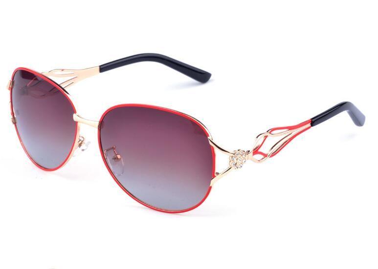New Fashion Polarized Sunglasses Beach Eyewear Gradient glasses for Women A163