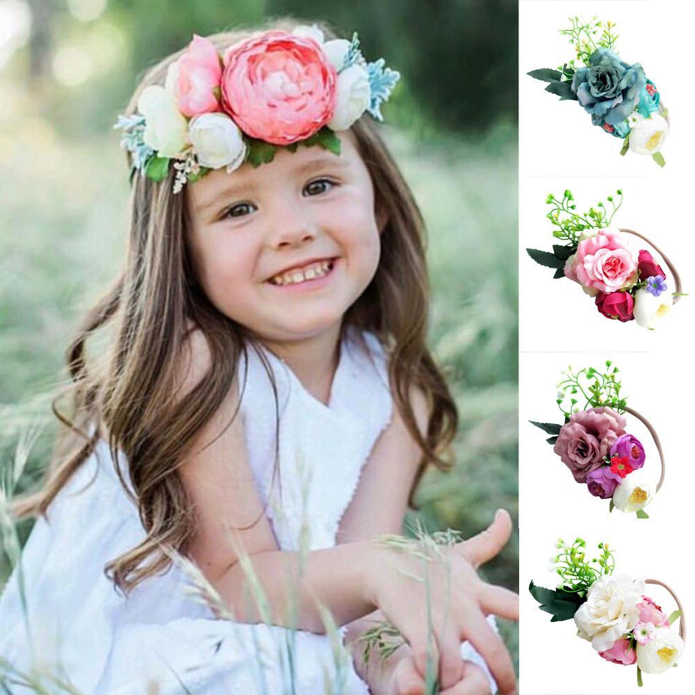 muqgew girls hair accessories cute baby toddler infant flower