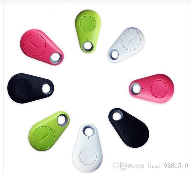 Micro Mini Buscador Inteligente Inteligente Inalámbrico Bluetooth 4.0 Tracer Localizador GPS Etiqueta de Seguimiento Alarma Monedero Mascota Rastreador de Perros con caja al por menor