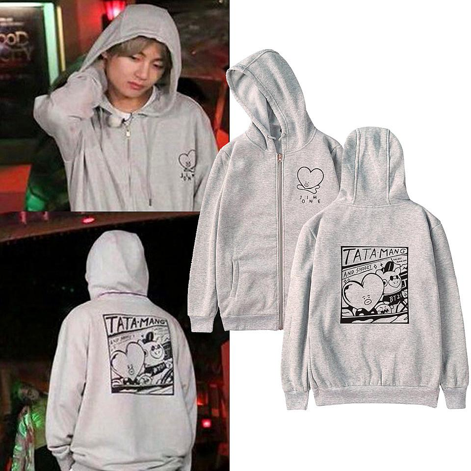 2019 Bts Jimin Hoodies Bts Bangtan Boys Kpop Hoodie And Sweatshirts