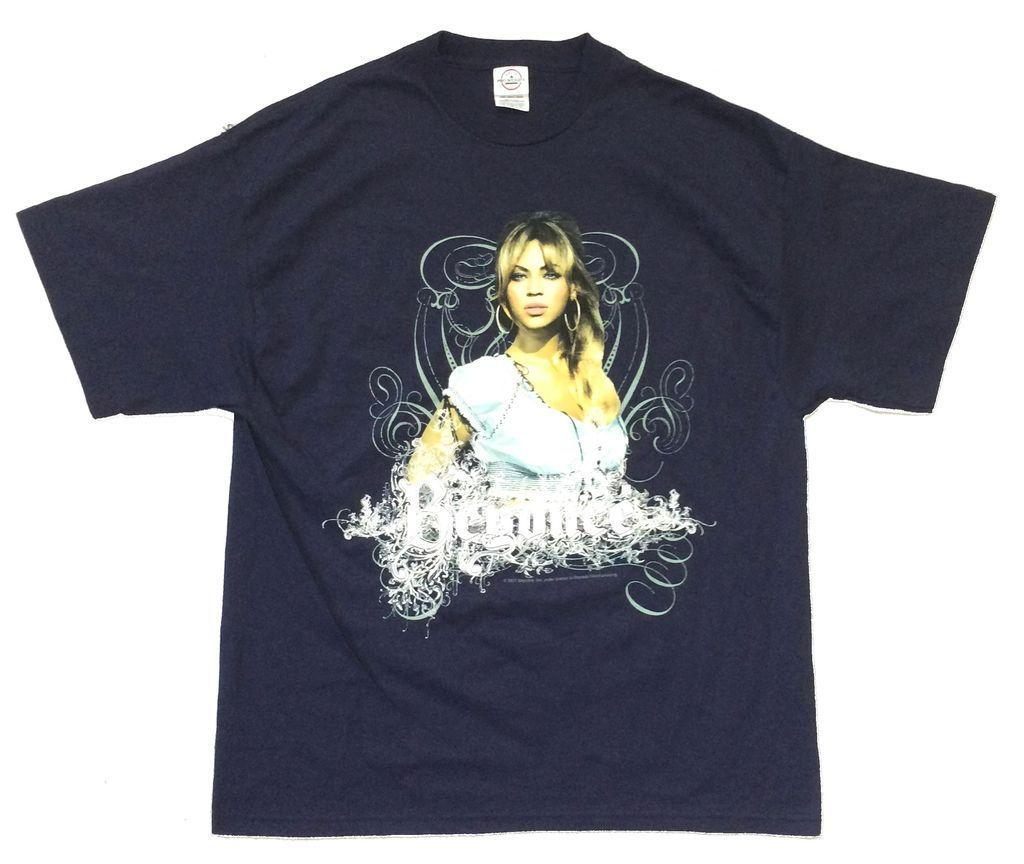 91c84a07 Beyonce Experience World Tour Navy Blue T Shirt New Official Licensed Print T  Shirt Men Summer Style Kawaii T Shirts Vintage T Shirts Sale From  Fayshowstore ...