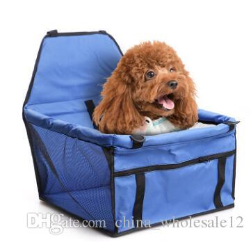 Free Shipping Pet Dog Carrier Car Seat Pad Safe Carry House Cat Puppy Bag Car Travel Accessories Waterproof Dog Seat Bag Basket Pet Products