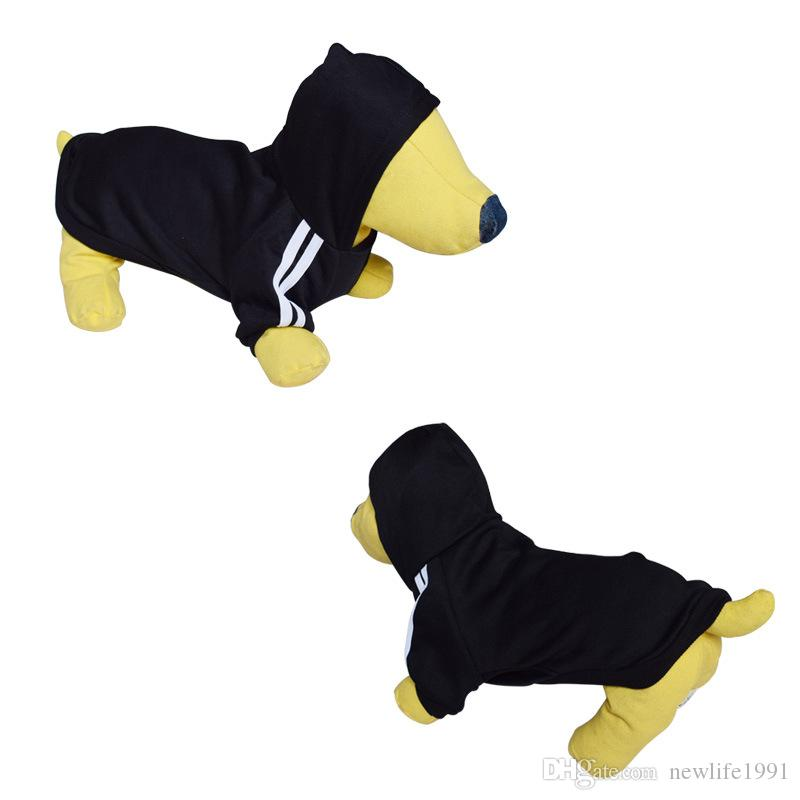 Spring Winter Puppy Hoodie Fashion Dog Clothes New Arrival Cotton Warmer Dogs Sweater Casual Sportswear Hoody Clothing Free Ship