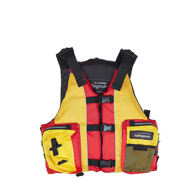 e473860ade17f Sailingmate Adult Accessorial Life Vest With EPE Foam Material And ...