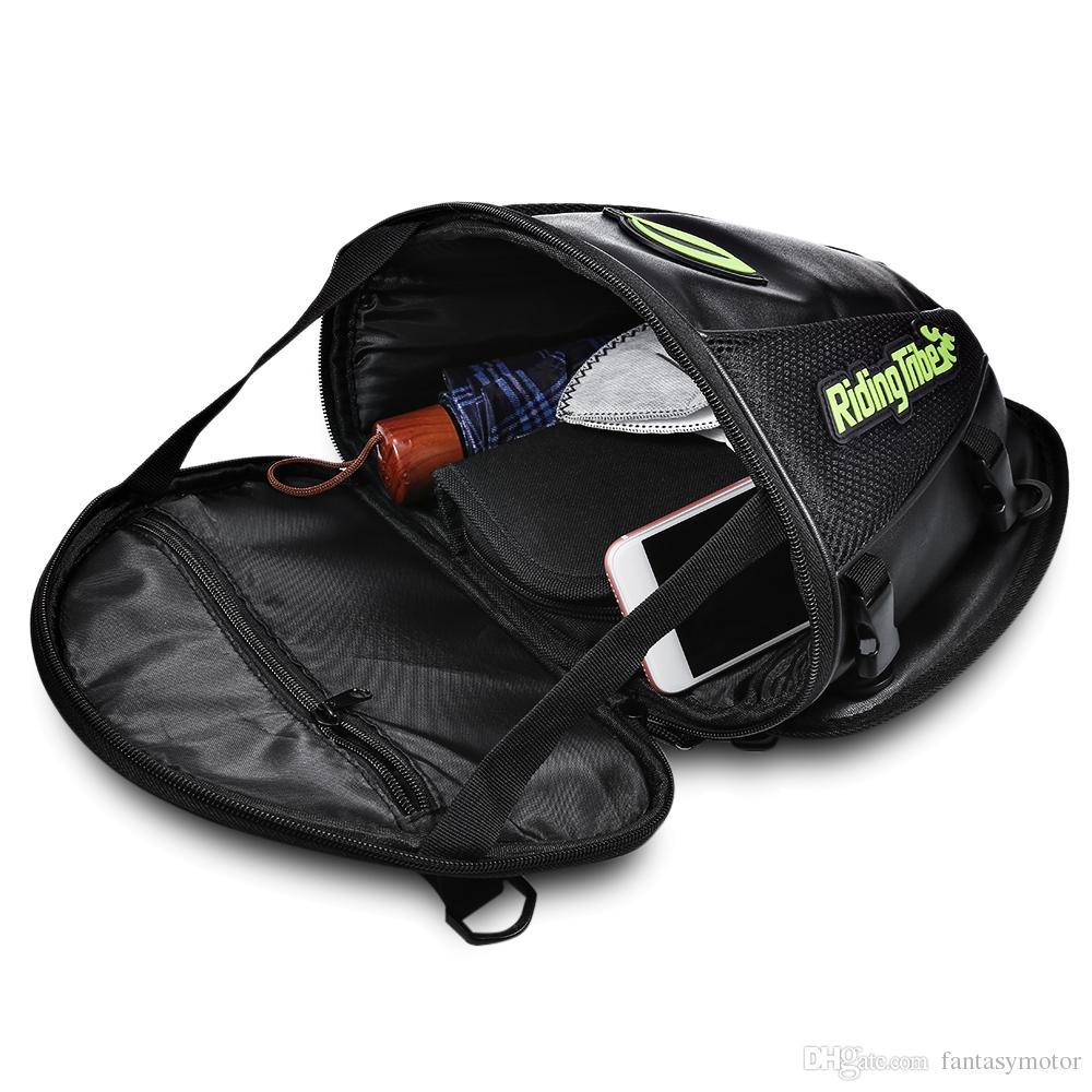 Motorcycle Bag Moto Back Seat Bags Tank Oil Bag Saddle Package Crossbody Bag Motorbike Gear Motocross Cycling Racing Equipment
