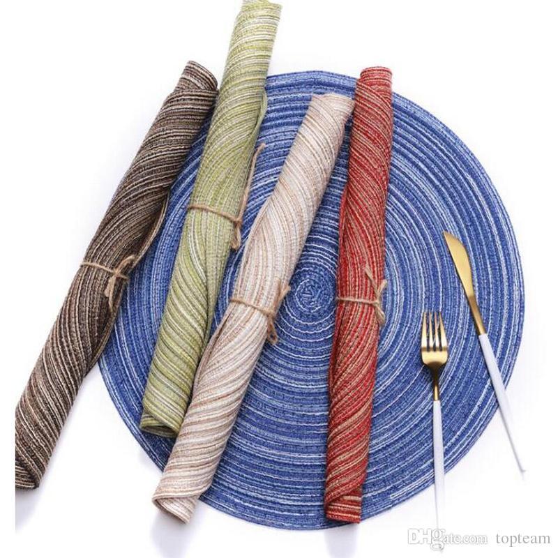 2018 Kitchen Table Mats 35cm Cotton Yarn