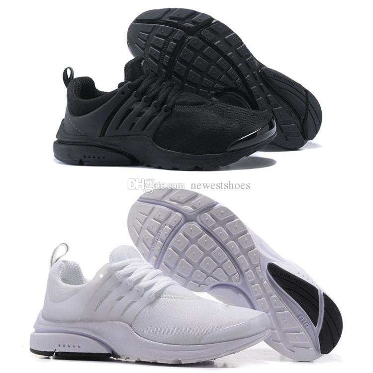 best sneakers 289b4 1499c Classic Presto Tripel Black White Mens Womens Running Shoes Prestos Ultra  BR QS Casual Jogging Designer Sneakers With Box Size 36-46