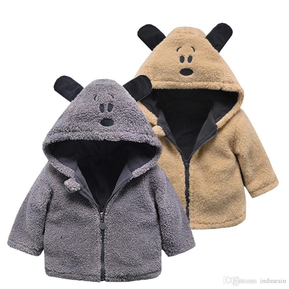 a25d0bbf5b72 NEW Baby Hooded Coat Cloak Autumn Winter Jacket Thick Warm Clothes ...