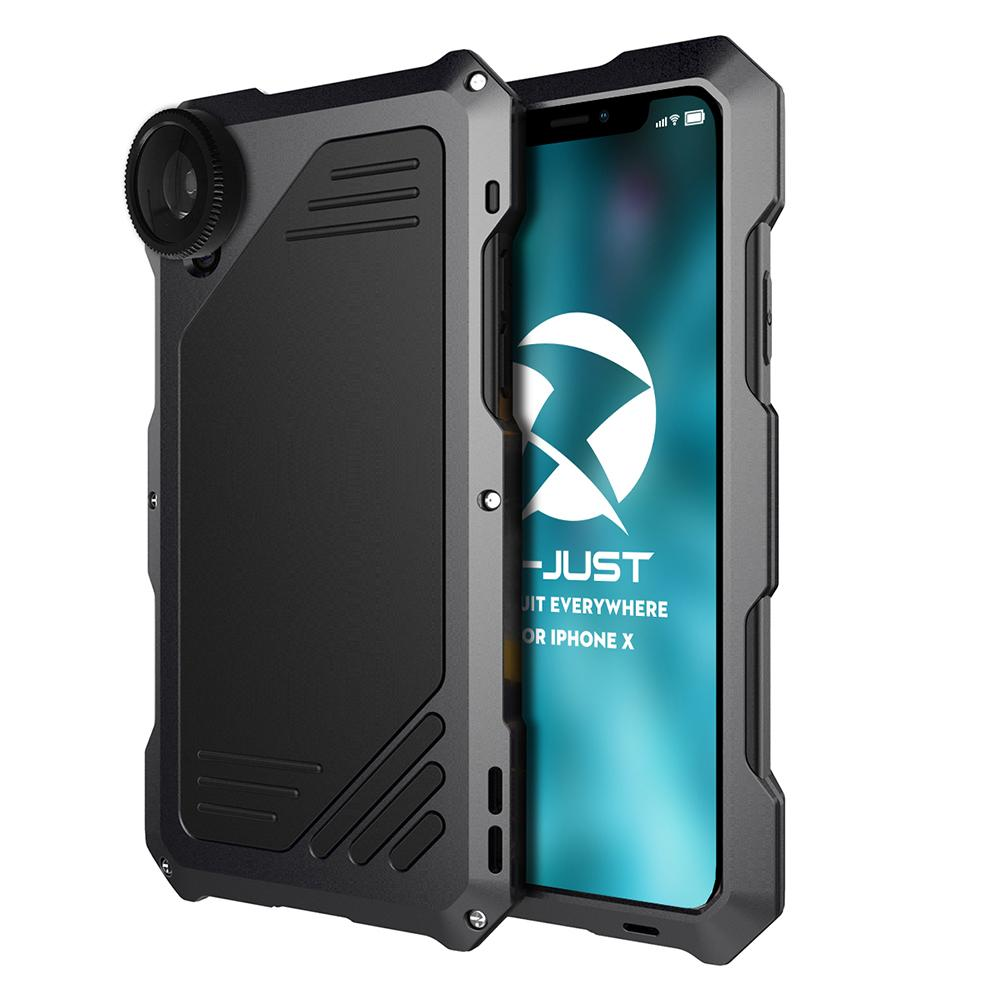 52d5a10e99 Wholesale For Iphone X Case Shockproof Luxury Doom Armor Dirt Shock 3proof Metal  Aluminum Mobile Phone Cases with Camera Lens Online with $52.73/Piece on ...