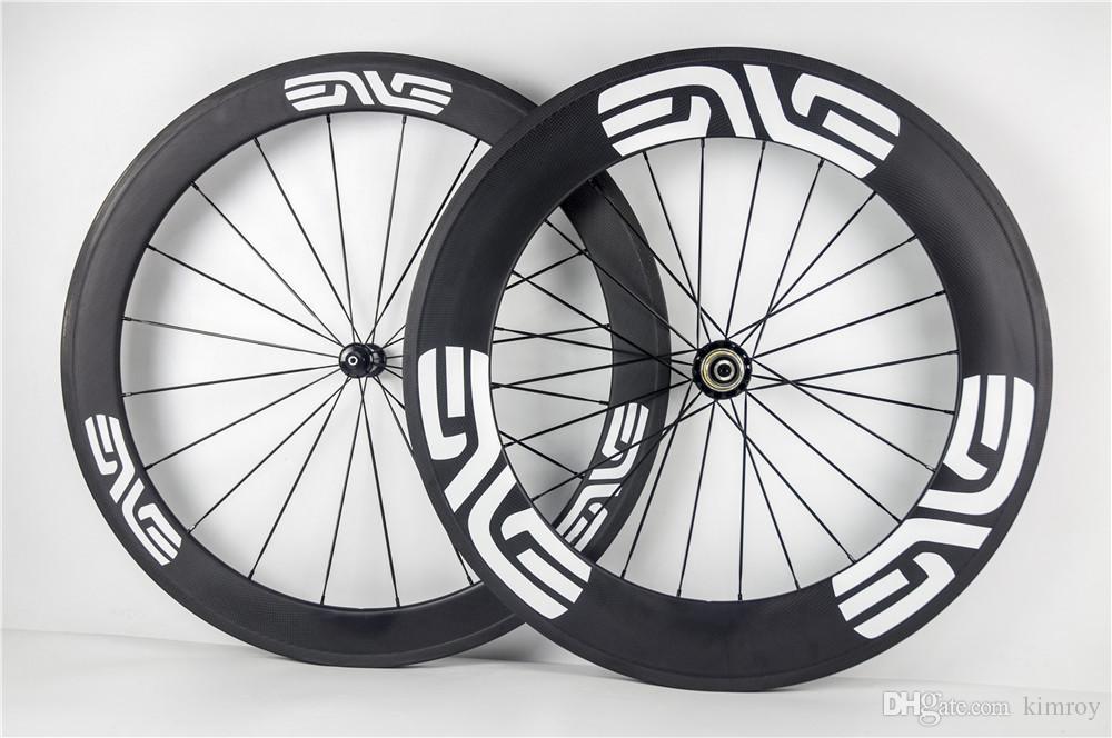 60mm 88mm Env White Logo Carbone Bike Bicycle Wheelset Road Bike