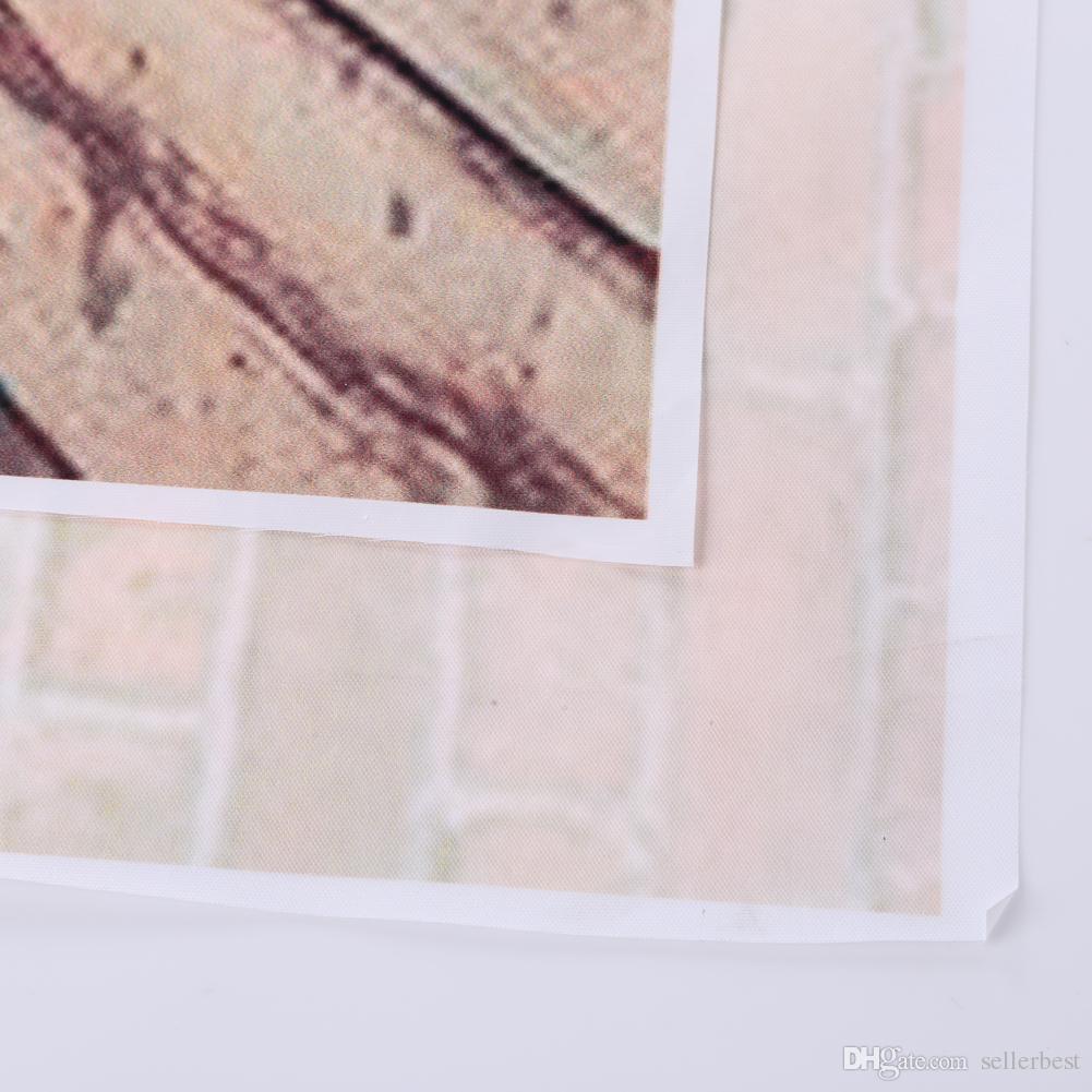 Brand new 3x5FT الطوب جدار التصوير خلفية الرجعية صورة أرضية خشبية خلفية للصور الاستوديو خلفية الدعامة