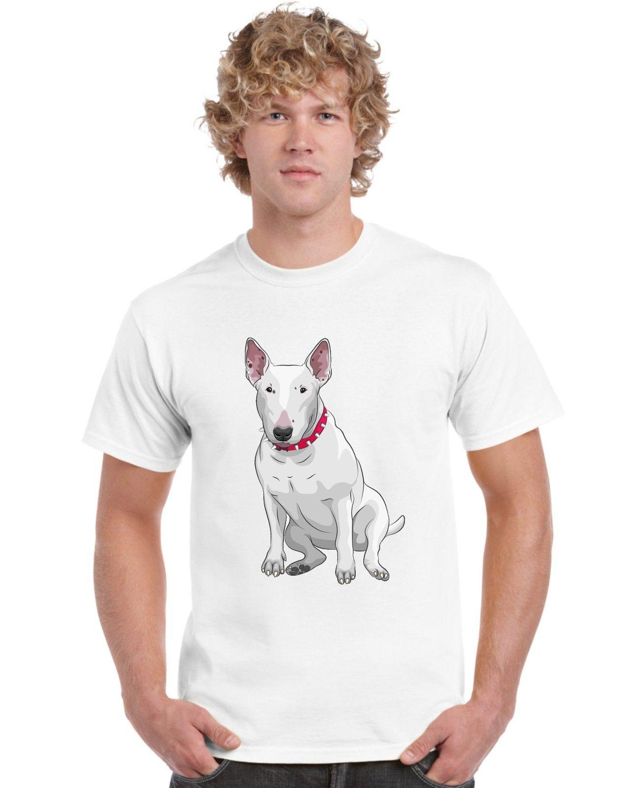 36c32f5c English Bull Terrier T Shirt Funny Unisex Casual Tee Gift Custom Shirt  Black Shirts From Tshirtsinc, $12.96| DHgate.Com