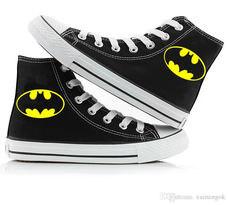 Großhandel Batman High Top Canvas Schuhe Turnschuhe Sportschuhe ...