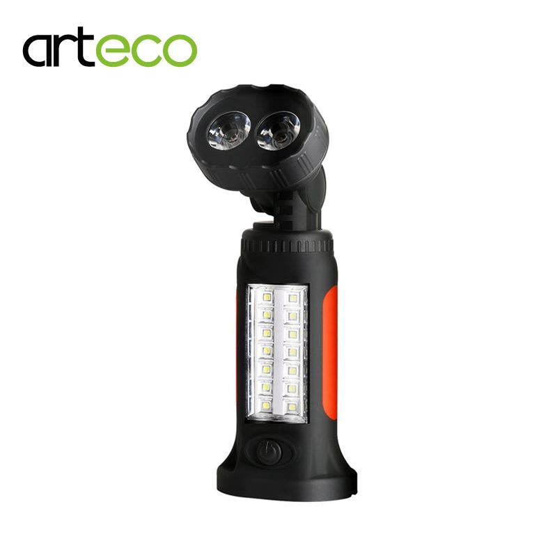 Potable Lantern LED  Work Light Magnetic 360 Degree Stand Hanging  For Camping Hunting Torch Lamp For Tent