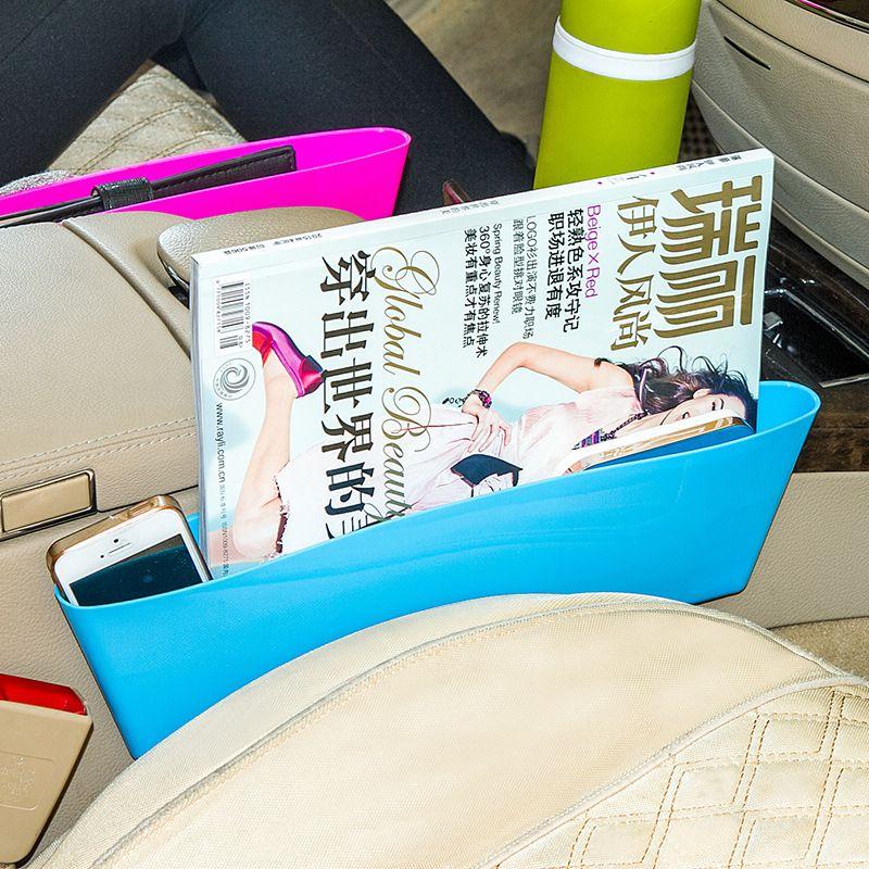 Auto Car Seat Console Organizer Side Gap Filler Pocket Organizer Storage Box Bins Bag Pocket Holder Console Slit Case for Phone Key