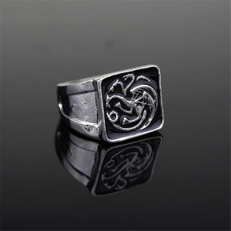 Wholesale Game of Thrones Targaryen Dragon Ring House Targaryen Coat of  Arms A Song of Ice and Fire Fire and Blood