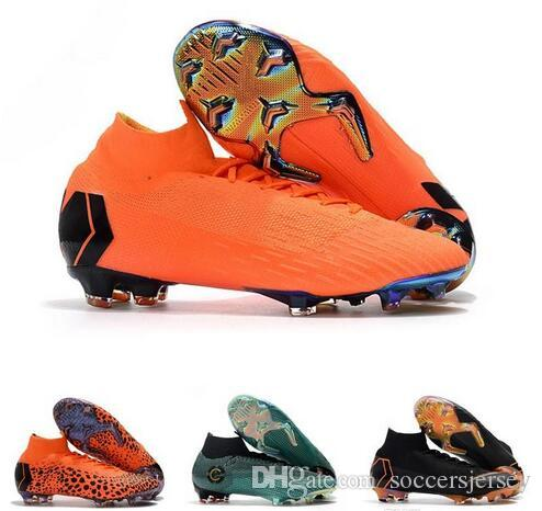 2019 Cheap Mens Football Boots Kids Mercurial Superfly VI 360 Elite FG Soccer  Shoes Boots Youth Women Outdoor Soccer Cleats From Soccersjersey d65f6f9cc7
