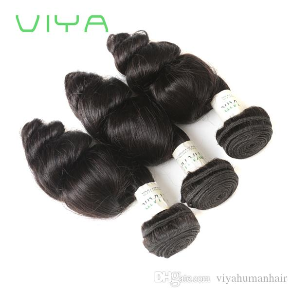 Malaysian Hair Weaving Virgin Loose Wave 9A Grade Malaysian Cheap Virgin Hair Loose Weave 3 bundles 10-30 inch Human Hair Weft