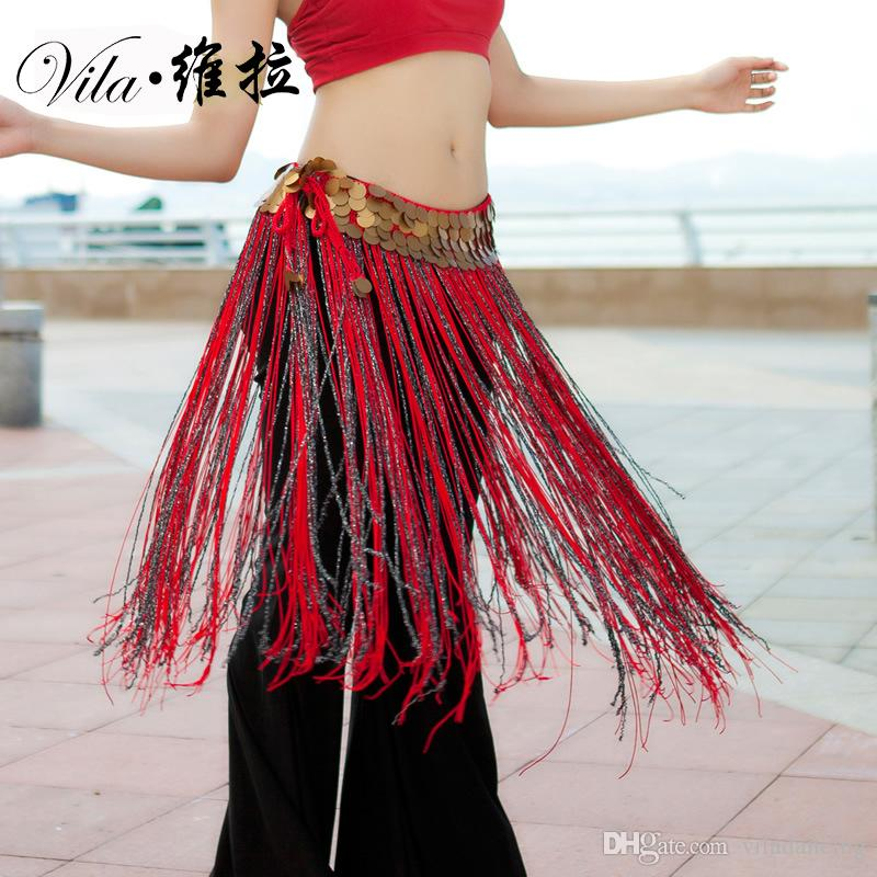 4be74efef 2019 2018 Wholesale Sexy Belly Dance Hip Scarf Tassel Women Sequins Dancing  Belt Dance Waist Chain For Lady From Viladancing, $10.24 | DHgate.Com