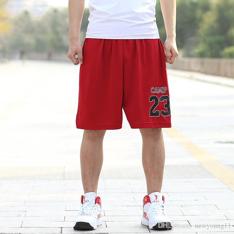 293b94b315a8db 2019 Youth Number 23 Basketball Shorts Men Polyester Sport Running ...
