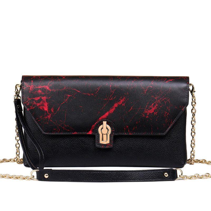 f05a808e6227 2018 Brand Fashion Luxury Designer Handbags Original Real Oxidation Leather  Fashion Bag Printed Famous Bag Luxury Bags Shell Shoulder Bag Handbag Sale  ...