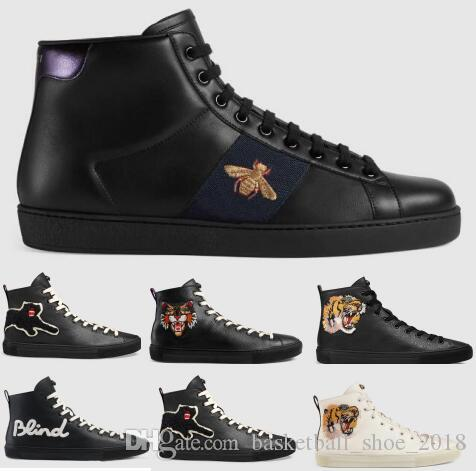 last men designer shoes white dress ace tiger honey bee