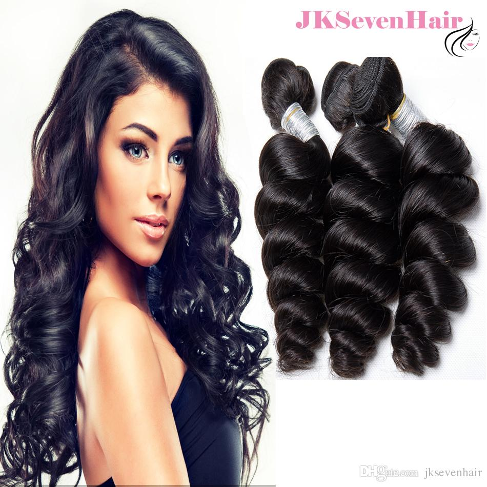 Remy Brazilian Hair Bundles 3pcs Loose Wave 10A Grade Peruvian Indian Human Hair wefts High Quality Malaysian Hair Extensions