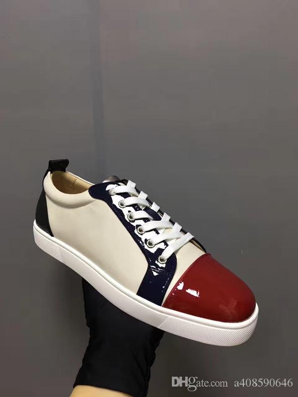e2c4356c0fc738 Großhandel Eine Hochwertige Mode Lässig Schuhe Schuhe Slip Komfortable  Luxusmarke Rote Schuhe