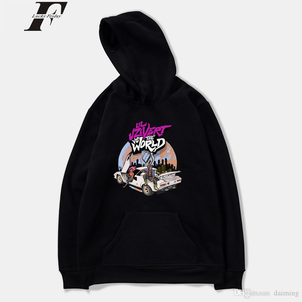 27f4b02ffd0 2019 Lil Uzi Vert Hoodies Men Fashion Basic Sweatshirt Men Loose Male  Casual Hot Sale Hoodies Sweatshirt Tracksuit From Daiming