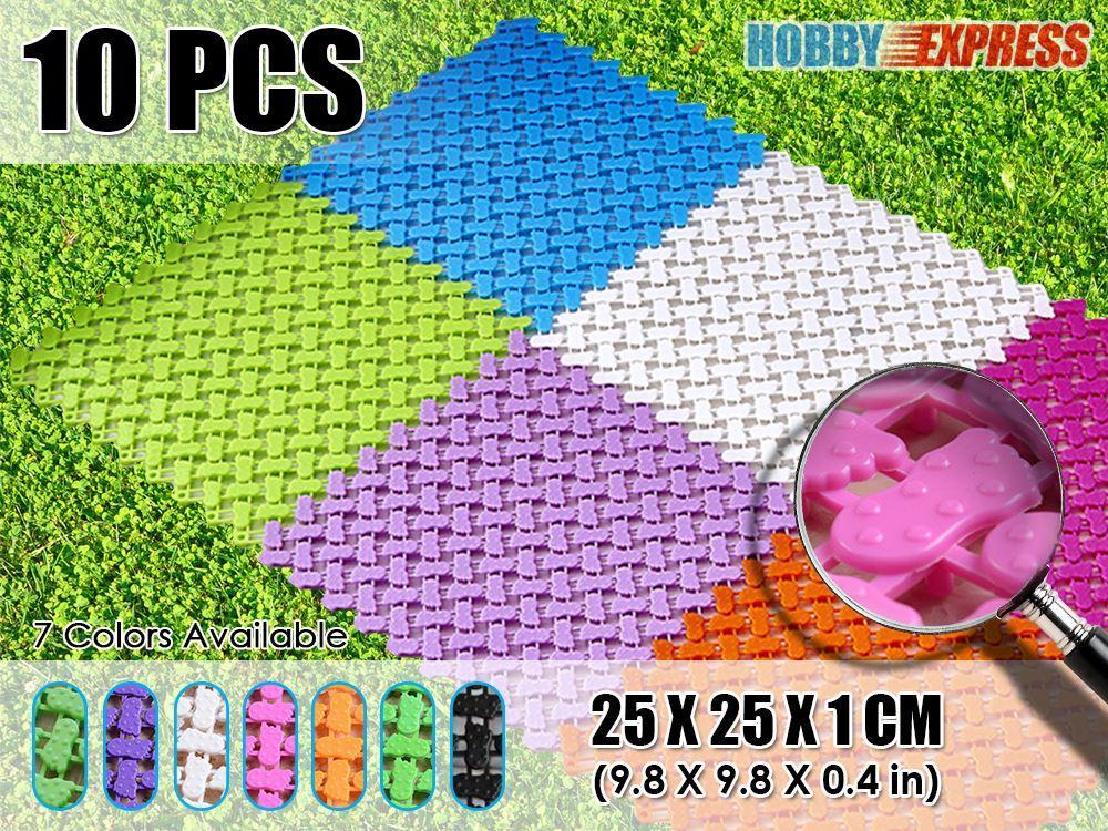 New Anti Slip Indooroutdoor Plastic Flooring Mat Tiles Foot Prints