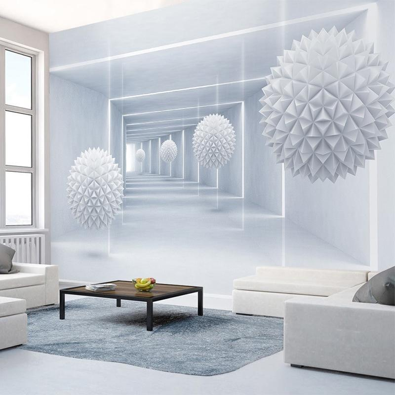 Großhandel Benutzerdefinierte Foto Tapeten 3D Stereo Abstrakt Space ...