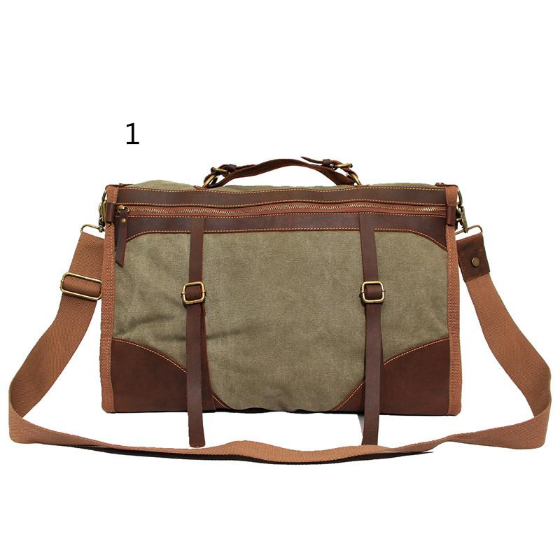 99dc6a1f5013 NEWEEKEND Crazy Horse Canvas Large Capacity Zipper Luggage Travel Crossbody  MS1043 for Man for Men Crazy Horse Travel Luggage Online with  95.91 Piece  on ...