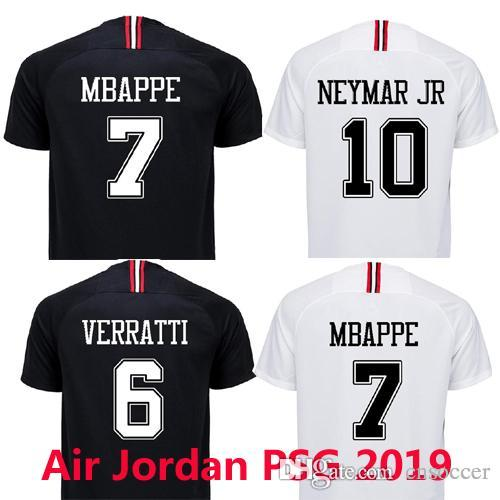 2019 Thai Quality Psg 3rd Champion Black White Fan Version Soccer Jerseys  2018 2019 Maillot De Foot MBAPPE Jersey 18 19 Football Shirt Maillot From  Cnsoccer ... 898dc1011