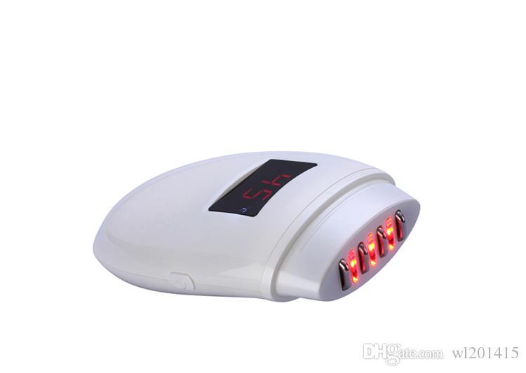 Rf-Knicken-Abbau-Punktematrixmassager Rotes geführtes helles Gesicht, welches die Antifalten festzieht Radiofrequenz-Badekurorthausgebrauch Schönheits-Maschine anhebt