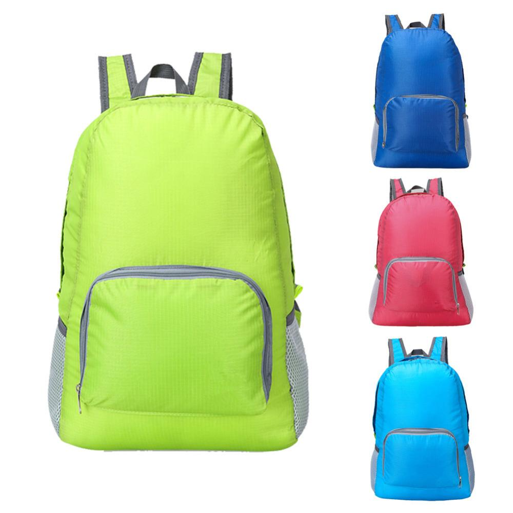 387e560c5398 Foldable Backpack Waterproof Nylon Lightweight Sports Bags Women Men  Children Skin Pack Travel Camping Hiking Bag Rucksack Camera Backpack Back  Packs From ...